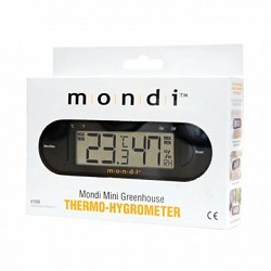 Mondi - MONDIE100 - Mini Greenhouse Thermo-Hygrometer