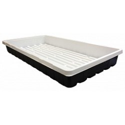 Mondi - MONDIG170 - Black & White 10 x 20 Propagation Tray, No Holes