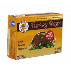 True Liberty Bags - TLBT25 - True Liberty Turkey Bags, pack of 25