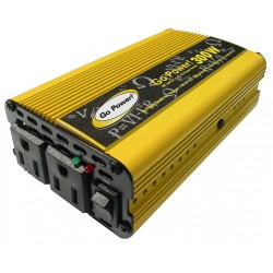 Carmanah Technologies - GP-300 - Carmanah DC-to-AC Power Inverter - Input Voltage: 12 V DC - Output Voltage: 115 V AC - Continuous Power: 300 W