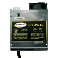 Carmanah Technologies - GPC-24/15 - Go Power. GPC-24-15 Battery Charger - 110 V AC Input - 27.2 V DC Output - AC Plug
