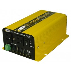 Carmanah Technologies - GPSW-150-24 - Carmanah GO Power. 150W DC to AC Power Inverter - 24V DC - 120V AC - Continuous Power:150W