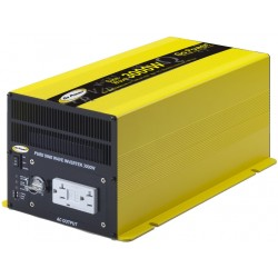 Carmanah Technologies - GP-SW3000-12 - Carmanah Go Power. GP-SW3000-12 3000W DC-to-AC Power Inverter - 12V DC - 115V AC - Continuous Power:3000W