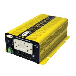 Carmanah Technologies - GPSW-300-12 - Carmanah Go Power. 300W DC to AC Power Inverter - 12V DC - 120V AC - Continuous Power:300W