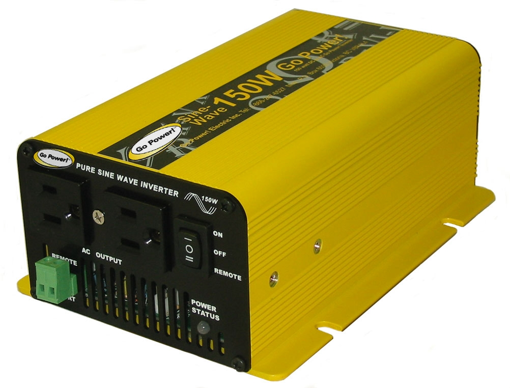 Carmanah Technologies - GPSW-150-24 - Carmanah GO Power. 150W DC to AC Power Inverter - 24V DC - 120V AC - Continuous at Sears.com