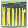 Titan Tool - 11566 - Titan - 6 Piece Nylon Slim Line Removal Kit For Vehicle Door Panels, Air Vents, Dashboards And Other Componets