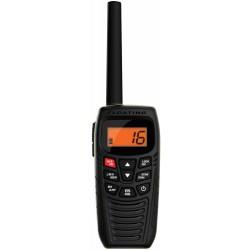 Uniden - ATLANTIS 270 - Uniden Handheld Floating Two-Way VHF Marine Radio - For Marine with NOAA All Hazard - VHF - 16/9 Instant - 6 W - Handheld