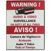 Vonnic - A1001 - Accessory A1001 Surveillance Warning SIGN 7 x 9 Plastic Retail