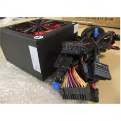 EPower Technology - EP-600PM - EPower Power Supply EP-600PM 600W ATX12V 2.3 Single 120mm Cooling Fan Bare