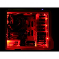 Nzxt - Cable-nt-cb-led2-r - Accessory Cable-nt-cb-led2-r Sleeved Led Kit Case Light 2 Meter Red