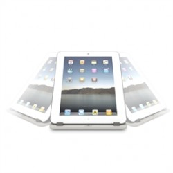Vantec Thermal Technologies - TAC-100-WH - Vantec Tablet Stand 360 - 0.6 x 7.4 x 7.4 - Plastic - White