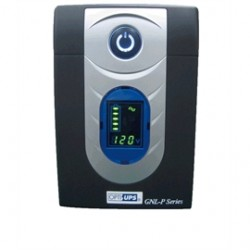 Opti Ups - GNL1025P - Opti Ups GNL1025P 1025VA/615W Line Interactive UPS with AVR 6-Outlet - 1025 VA/615 W - 120 V AC - Tower - 2, 4