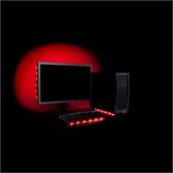 Antec - Accent Lighting Red - Accessory Accent Lighting Red Usb Powered 6xled Strip Retail