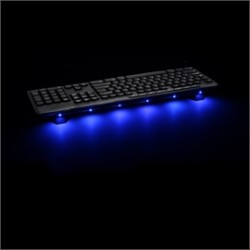 Antec - Accent Lighting Blue - Accessory Accent Lighting Blue Usb Powered 6xled Strip Retail