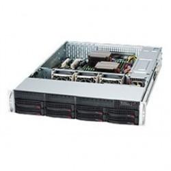 "Supermicro - CSE-825TQ-R740LPB - Supermicro SuperChassis 825TQ-R740LPB (Black) - Rack-mountable - Black - 2U - 10 x Bay - 3 x Fan(s) Installed - 2 x 740 W - ATX, EATX Motherboard Supported - 3 x Fan(s) Supported - 8 x External 3.5"" Bay - 2 x Internal 3.5"""