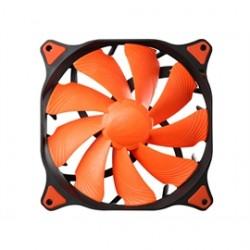 HEC Compucase - CF-V12H - Cougar Vortex CF-V12H 120mm Hydro Dynamic Bearing (Fluid) Case Fan (Orange)