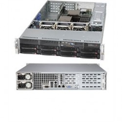 "Supermicro - CSE-825TQ-R740WB - Supermicro SuperChassis 825TQ-R740WB (Black) - Rack-mountable - Black - 2U - 10 x Bay - 3 x Fan(s) Installed - 2 x 740 W - EATX Motherboard Supported - 3 x Fan(s) Supported - 8 x External 3.5"" Bay - 2 x Internal 3.5"" Bay -"