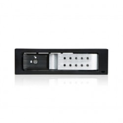iStarUSA - BPN-DE110SS-SILVER - iStarUSA BPN-DE110SS Drive Bay Adapter Internal - Silver, Black - 1 x Total Bay - 1 x 3.5 Bay