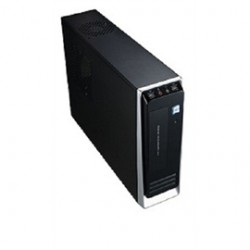 Winsis - WD-02 - Winsis Case WD-02 Desktop 1/0/(1) USB HD Audio 350W Power Supply microATX Black