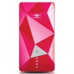 Vantec Thermal Technologies - VAN-350BB-PK - Vantec Accessory VAN-350BB-PK Power Gem 3500 mAh Power Bank (Pink color)