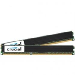 Crucial Technology - CT2K4G3ERVLD8160B - Crucial 8GB (2 x 4 GB) DDR3 SDRAM Memory Module - 8 GB (2 x 4 GB) - DDR3 SDRAM - 1600 MHz DDR3-1600/PC3-12800 - 1.35 V - ECC - Registered - 240-pin - DIMM