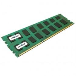 Crucial Technology - CT2K8G3ERSLD8160B - Crucial 16GB (2 x 8 GB) DDR3 SDRAM Memory Module - 16 GB (2 x 8 GB) - DDR3 SDRAM - 1600 MHz DDR3-1600/PC3-12800 - 1.35 V - ECC - Registered - 240-pin - DIMM
