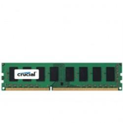 Crucial Technology - CT25672BD160B - Crucial 2GB, 240-pin DIMM, DDR3 PC3-12800 Memory Module - 2 GB - DDR3 SDRAM - 1600 MHz DDR3-1600/PC3-12800 - 1.35 V - ECC - Unbuffered - 240-pin - DIMM