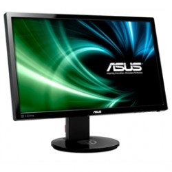 Asus - VG248QE - Asus VG248QE 24 LCD Monitor - 1 ms - 1920 x 1080 - Full HD - Speakers - DVI - HDMI - Black