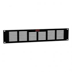 APC / Schneider Electric - ACAC40001 - APC by Schneider Electric 2U Vent Panel - Black - 3.5 Height - 19 Width - 0.1 Depth