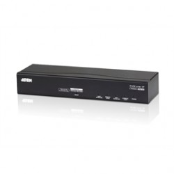 Aten Technologies - CN8600 - Aten DVI KVM over IP - 1 Computer(s) - 1 Local User(s) - 1 Remote User(s) - 1920 x 1200 - 4 x Network (RJ-45) - 1 x PS/2 Port - 4 x USB - 2 x DVI