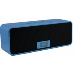 Adesso / ADS Technologies - XTREAMS2L - Adesso Xtream S2L Speaker System - Wireless Speaker(s) - Portable - Battery Rechargeable - Blue - 80 Hz - 20 kHz - 32.8 ft - Bluetooth - USB - iPod Supported