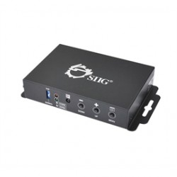 SIIG - CE-H21X11-S1 - SIIG HDMI to VGA & Audio Converter Scaler - Functions: Signal Conversion, Video Scaling - 1920 x 1200 - VGA - USB - Audio Line Out - Wall Mountable