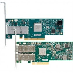 Mellanox Technologies - MCB194A-FCAT - Mellanox Connect-IB Infiniband Host Bus Adapter - 2 x - PCI Express 3.0 x16 - 56 Gbit/s - 2 x Total Infiniband Port(s) - Plug-in Card