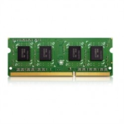 QNAP Systems - RAM-4GDR3L-SO-1600 - QNAP 4GB DDR3 SDRAM Memory Module - 4 GB - DDR3 SDRAM - 1600 MHz - 204-pin - SoDIMM