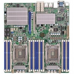 ASRock - EP2C602-2L+2OS6/D16 - ASRock Rack EP2C602-2L+2OS6/D16 Dual LGA2011/ Intel C602/ DDR3/ SATA3&SAS2/ V&4GbE/ SSI EEB Server Motherboard