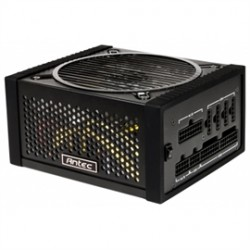 Antec - EDGE 650 - Power Supply EDG650 650W Power Supply ATX 12V Active PFC PCI Express SATA Modular 80PLUS GOLD Retail