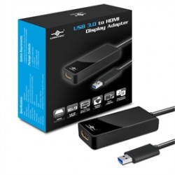 Vantec Thermal Technologies - NBV-200U3 - Vantec Accessory NBV-200U3 USB3.0 to HDMI Display Adapter Retail