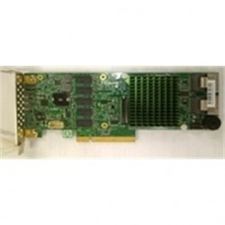 Supermicro - AOC-S2208L-H8IR(3YR) - IO Card AOC-S2208L-H8IR(3YR) SAS/SATA RAID 240HD PCI-Express x8 G3 Low Profile 2x8087 Brown Box