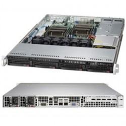 Supermicro - 6018R-TDTPR - Server 6018R-TDTPR 1U RM Xeon E5-2600v3 LGA2011 Socket R3 4x3.5inch Hot-Swap 500W RPS Retail