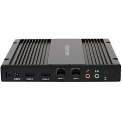 AOpen - 91.DED01.A110 - Barebone System 91.DED01.A110 DE3250s Intel Dual Core CPU On-Board No Memory/SSD/Operating System L Type Power Lock Brown Box