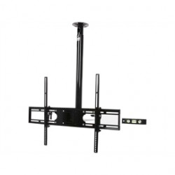 Rosewill - RHCT-13001 - Rosewill RHCT-13001 Ceiling Mount for TV - 65 Screen Support - 132 lb Load Capacity - Black