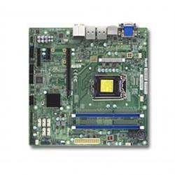 Supermicro - MBD-X10SLQ-L-B - Motherboard MBD-X10SLQ-L-B Core i7/i5/i3 LGA1150 Socket H3 Q87 DDR3 SATA microATX Bulk