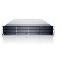 Sans Digital - ES212X6+B - Removable Storage Device ES212X6+B 2U 12Bay 6G SAS Expander SAS/SATA to mini-SAS with RPS Brown Box