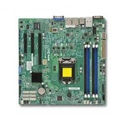 Supermicro - MBD-X10SLM-F-O(3YR) - Motherboard MBD-X10SLM-F-O(3YR) LGA1150 H3 E3-1200v3 PCI-Express SATA microATX Brown Box