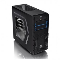 Thermaltake - CA-3B1-60M1WU-00 - Case CA-3B1-60M1WU-00 Versa H23 C+P Window Mid Tower 2/0/(3) USB Retail
