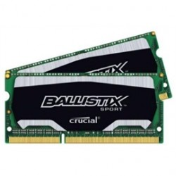 Crucial Technology - BLS2K4G3N18AES4 - Memory BLS2K4G3N18AES4 8GB DDR3L 1866 SODIMM 2x4GB Ballistix Sport Retail