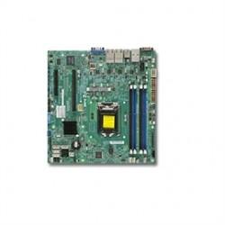Supermicro - MBD-X10SLM+LN4F-O(3YR) - Motherboard MBD-X10SLM+LN4F-O(3YR) Xeon E3-1200v3/v4 LGA1150 Socket H3 C224 DDR3 SATA PCI Express Brown Box