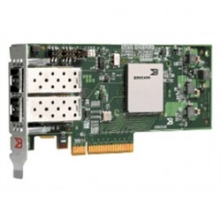 QLogic - BR-1860-2C00 - Brocade 10gb Dual Port Fcoe Cna, X8 Pcie, No Transceivers Installed