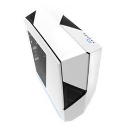 Nzxt - Ca-n450w-w1 - Case Noctis 450 Atx Mid Tower No Power Supply 0/0/(6) Bay Usb White Steel Window