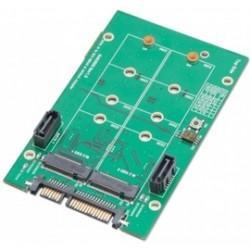 SYBA Multimedia - SY-ADA40102 - Accessory SY-ADA40102 3.5inch SATA to M.2 SSD RAID Adapter Retail